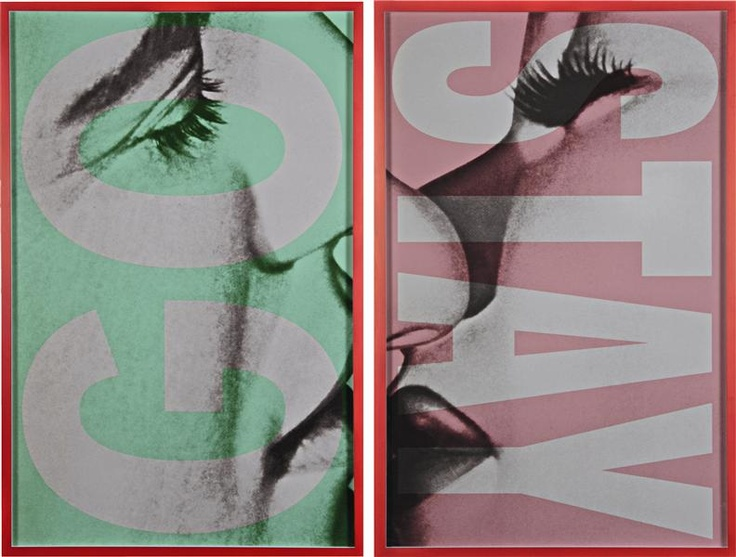 I want this!  Barbara Kruger @ auction Philips de Pury & Co. March 8
