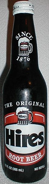 Hires Root Beer-I loved Hires,but even in my day(when we still had glass bottles,that you could return for deposits)-it was difficult to find.Other knockoff brands were easier to come across-but Hires was my favorite. Now my son likes a specially brewed nutmeg rootbeer that is $4.99 a bottle-why should I be surprised I spawned another rootbeer snob??