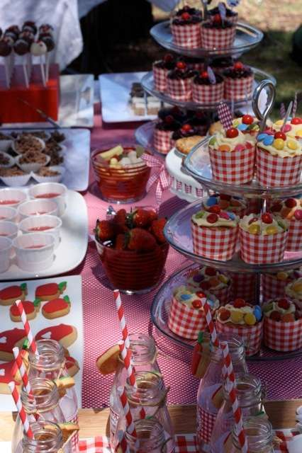 Picnic Birthday Party Ideas | Photo 6 of 15 | Catch My Party