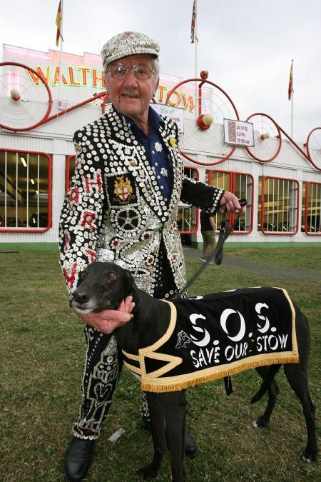 Pearly King at Walthamstow Dogs