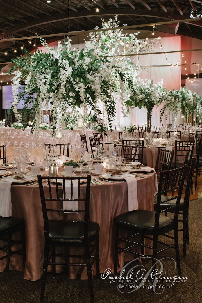 38 best weddings at palais royale toronto images on pinterest luxurious hanging floral centerpiece at a palais royale wedding in toronto junglespirit Gallery