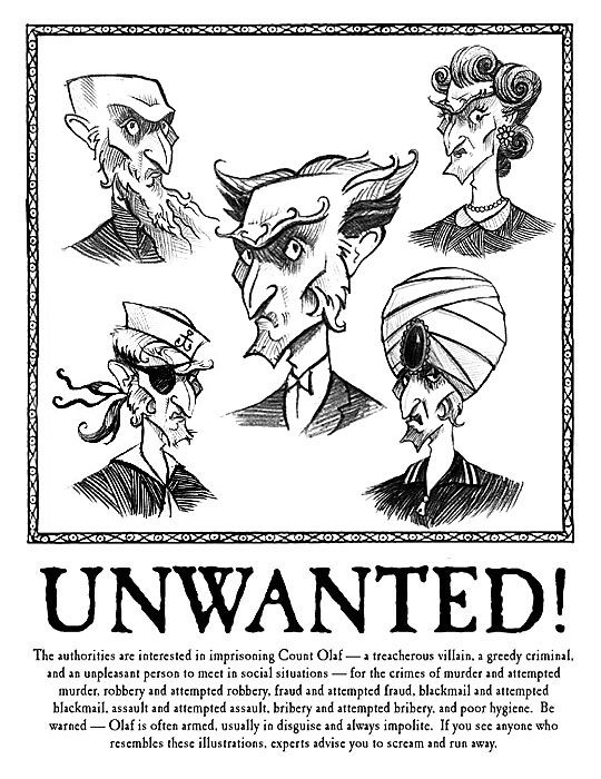 """Which """"A Series Of Unfortunate Events"""" Character Are You? You got: Klaus Baudelaire Brett Helquist You are a stern, logical thinker. Others turn to you when they are in need of help and you are always happy to oblige. Your ability to recall the knowledge you have learnt throughout your life is a most admirable trait. Whilst you may appear shy to strangers, your true interior is one of bravery and courage."""