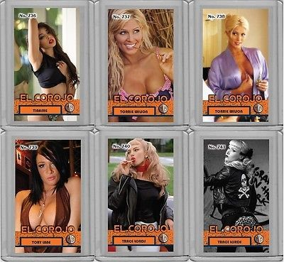 TORRIE WILSON rare #'d 2/3 Millhouse El Corojo Tobacco Style card No. 737 please retweet