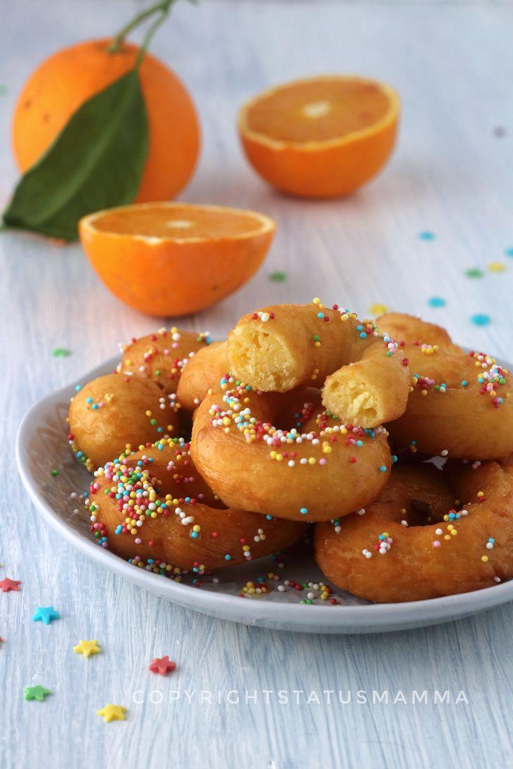 Zeppole di carnevale soffici ricotta e arancia veloci photo food photography recipes carnevale facile veloce
