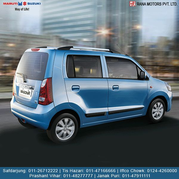 Maruti Suzuki WagonR A true family hatchback that comes with great fuel efficiency. http://www.ranamotors.co.in/toolkit/maruti-suzuki-wagonr-en-in.htm Contact Numbers:- Safdarjung: 011-26712222 Prashant Vihar: 011-48277777 Iffco Chowk: 0124-4260000 Tis Hazari : 011-47166666 Janak Puri: 011-47911111  #MarutiSuzuki #WagonR #Hatchback #Car #Fuel #RanaMotors #Delhi