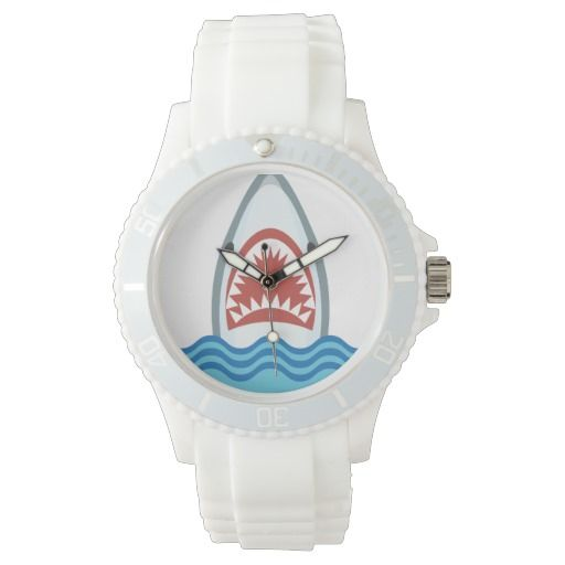 Funny Cartoon Shark Head Watch by Antique Images on Zazzle @zazzle #zazzle #art #home #decor #look #cool #sweet #awesome #awesomeness #buy #shop #shopping #sale #nice #homedecor #jaws #movie #vintage #shark #vacation #fish #ocean #sea #waves #nautical #aquatic #watch #fashion #men #women #style