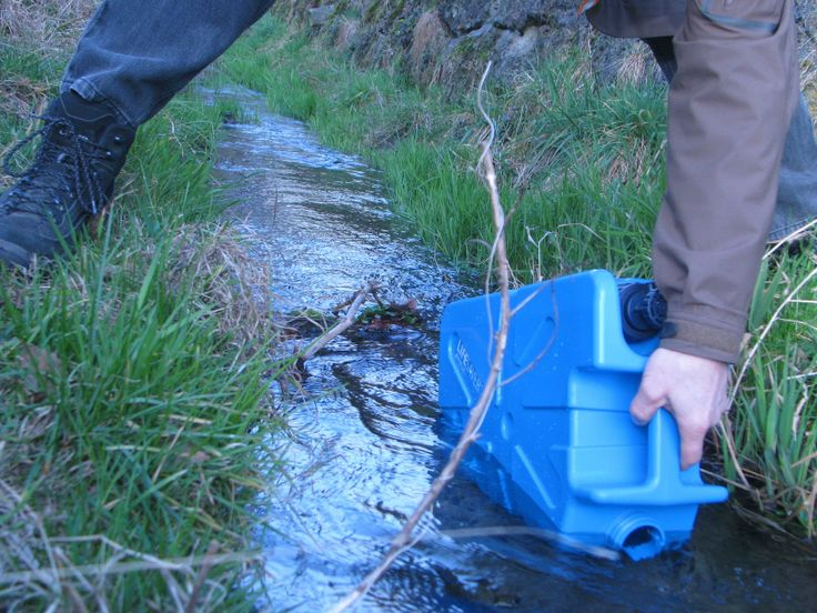 LIFESAVER jerrycan in action! Find out more here:- http://www.lifesaversystems.com/lifesaver-products/lifesaver-jerrycan