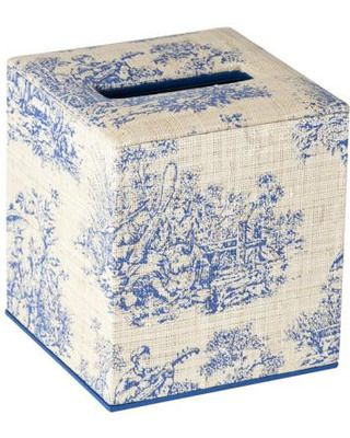 Toile Tissue Box- love toile on any size box