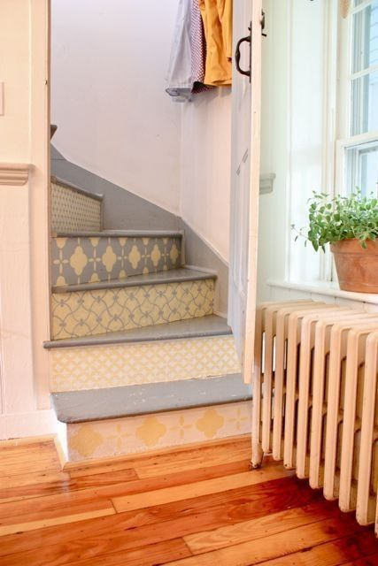 .outside front stair idea