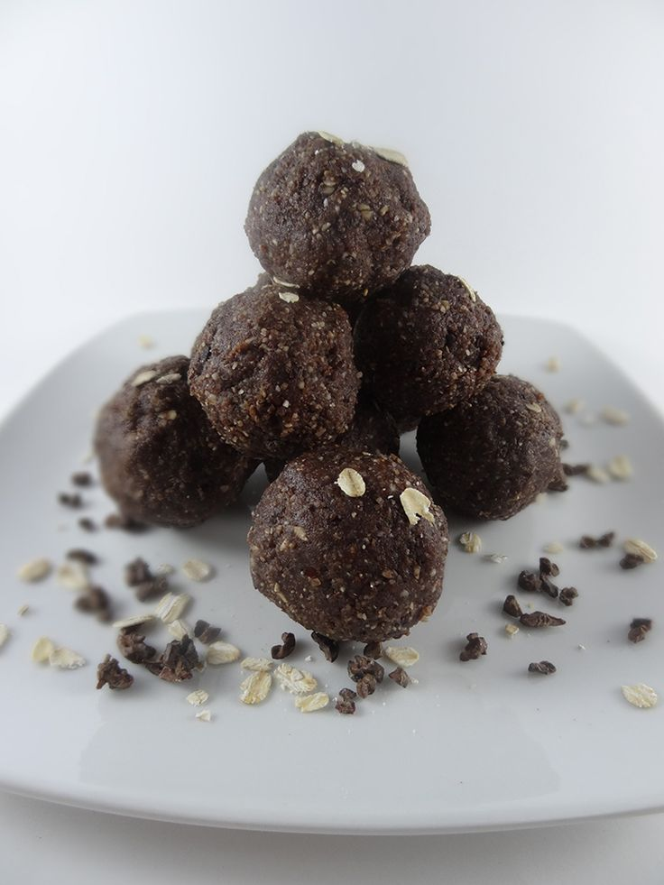 Raw Chocolate Salty Crunch Balls. Learn how to make these at my Upcoming Raw Food Workshop in #Ubud #Bali on October 27th - http://rawfoodbali.com/raw-food-workshop-oct-17/