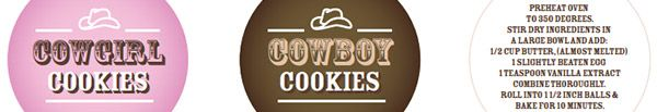 Cowgirl Cookies Mason Jar Cookie Mix