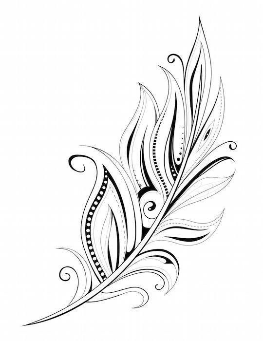 Feather Tattoo … #tattoos