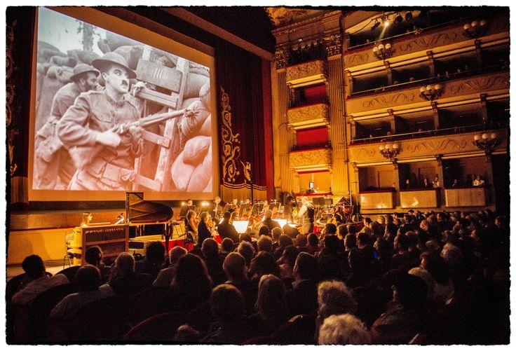 Suonando Chaplin | Orchestra della Toscana | 25 aprile 2014