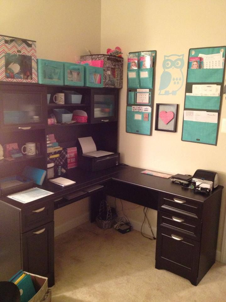 How to build a corner desk with hutch woodworking projects plans - Corner office desk ...