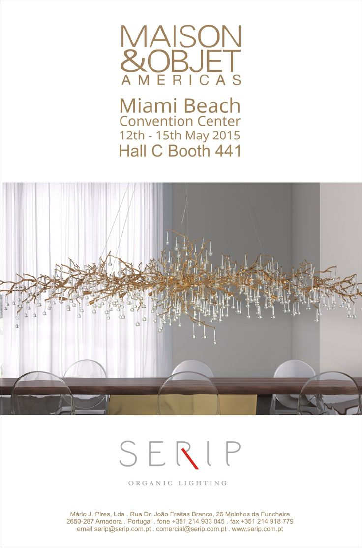 SERIP @maisonobjet Americas 12th-15th May 2015 | Hall C Booth 441