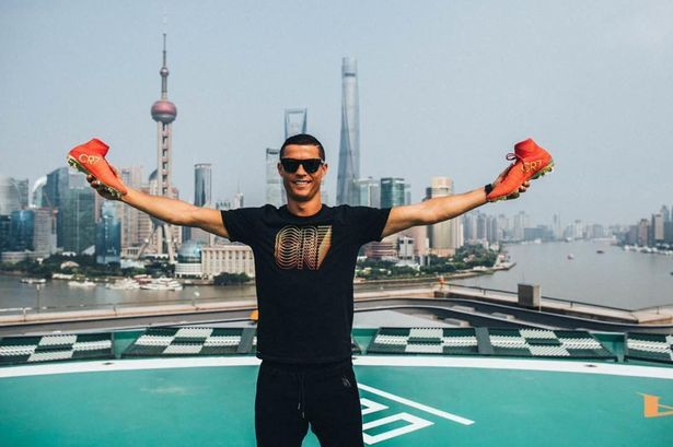 Cristiano Ronaldo heads to China for his first ever 'individual tour' with Nike - Mirror Online