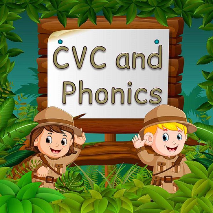 CVC Word Scramble and Phonics Play Phonics games
