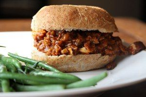 Best Fix n' Forget Sloppy Joe's - #GlutenFree of course!: Vegetarian Sloppy, Vegan, Sloppy Joes, Joes 300X200, Diet Recipes, Recipes Sloppy, 300X200 Eat, Live Recipes