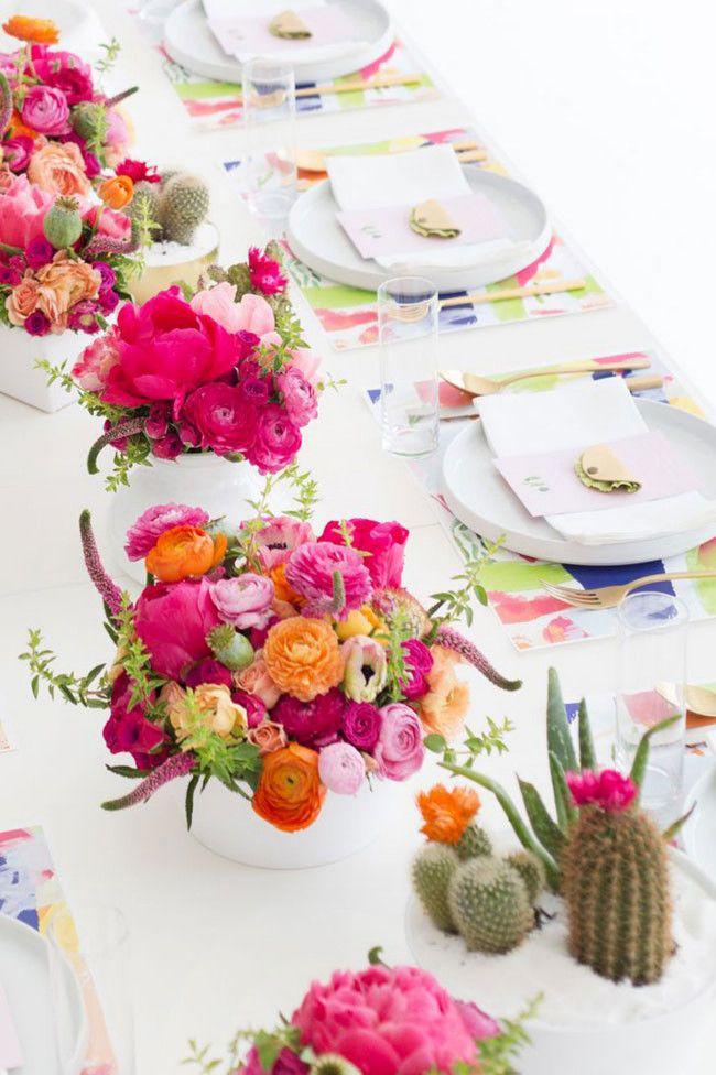 Stylish ways to display cacti
