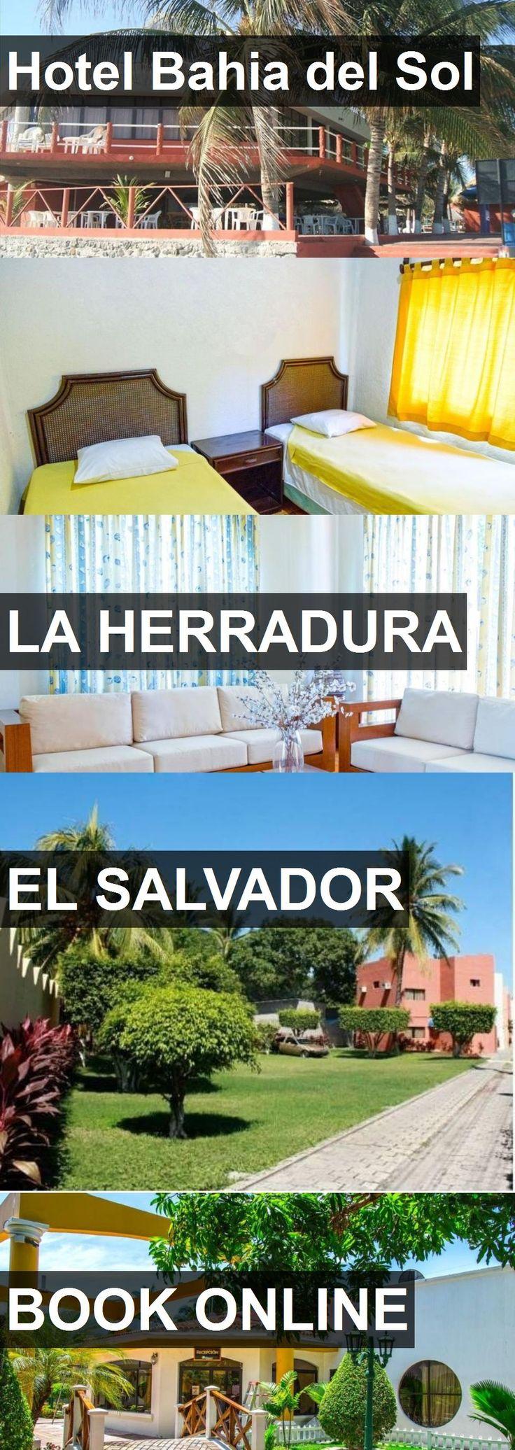 Hotel Bahia del Sol in La Herradura, El Salvador. For more information, photos, reviews and best prices please follow the link. #ElSalvador #LaHerradura #travel #vacation #hotel