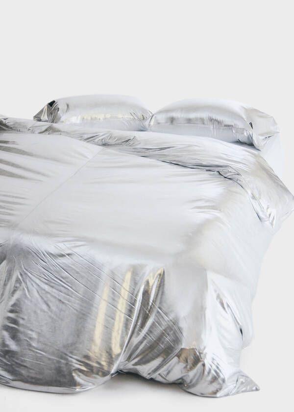 Metallic Jersey Duvet Cover In 2020 Standard Pillow Duvet