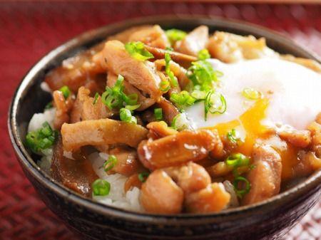 かしわバター丼、かしわバターうどん、かしわと干し椎茸のバター焼きアレンジレシピ|魚料理と簡単レシピ