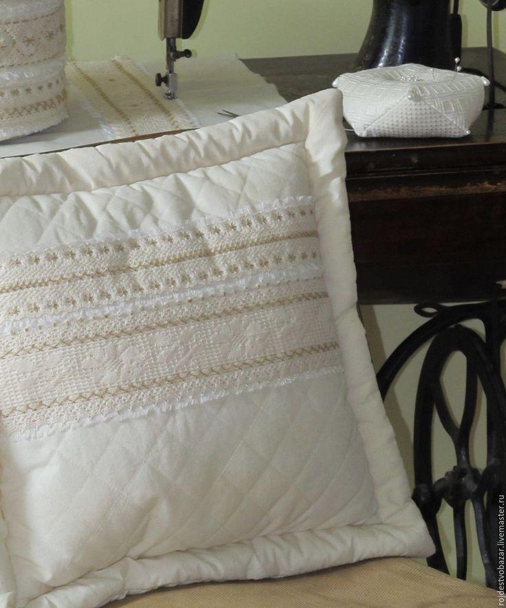 Купить Косметичка и подушки в стиле бохо - диванные подушки, думочка, декоративные подушки