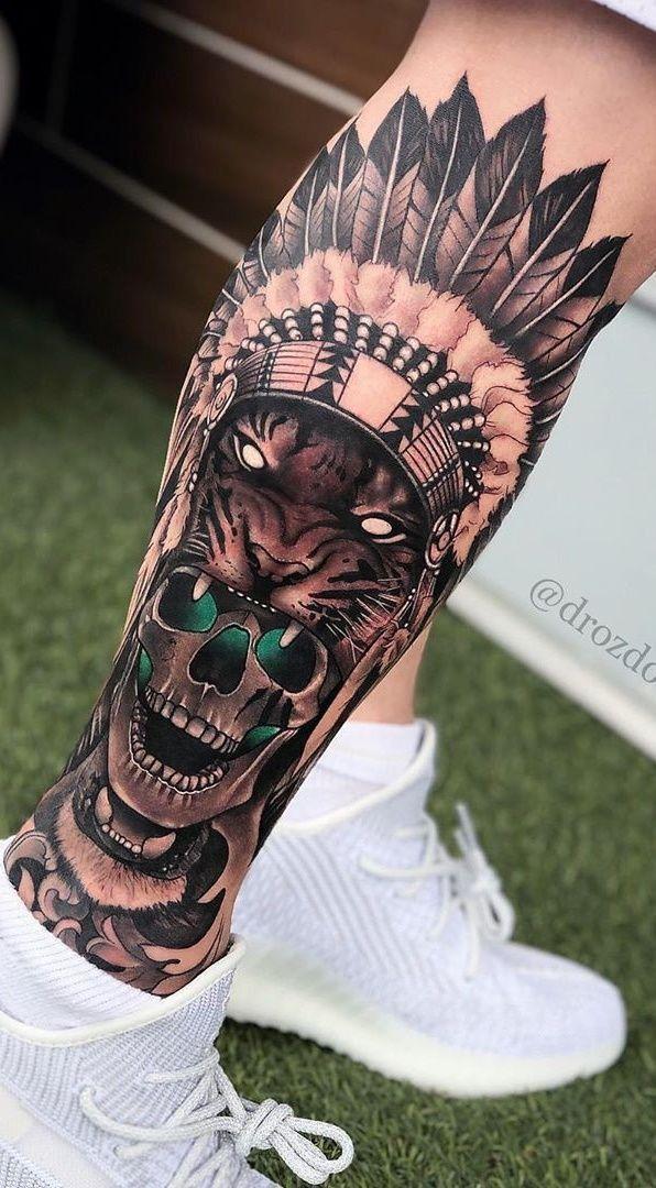Pin De Cogco 45 En Tattoo Tatuajes Pantorrilla Hombres Tatuajes Tatuajes Pierna Hombre