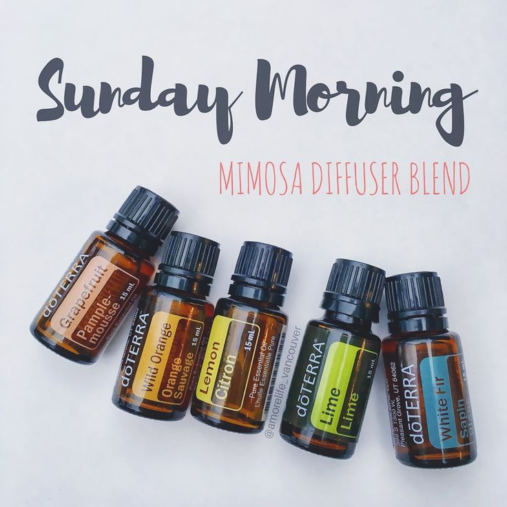 Good Morning friends (big yawns over here).... Sunday mornings are perfect for mimosas! For those of us who can't have the real deal, here's a yummy and uplifting essential oil diffuser blend to jumpstart your morning. - 2 drops dōTERRA Grapefruit - 2 drops dōTERRA Wild Orange - 2 drops dōTERRA Lemon - 2 drops dōTERRA Lime - 1 drop dōTERRA White Fir Diffuse and enjoy!! Have a lovely Sunday everyone! Xo. @amorelife_vancouver