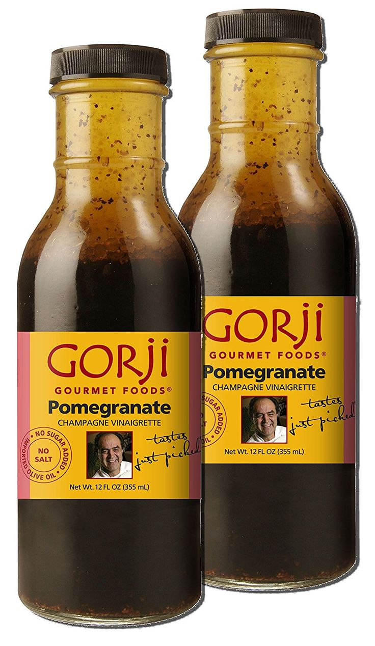 Gorji Gourmet Pomegranate Vinaigrette 12 oz (Pack of 2) * Be sure to check out this awesome product.