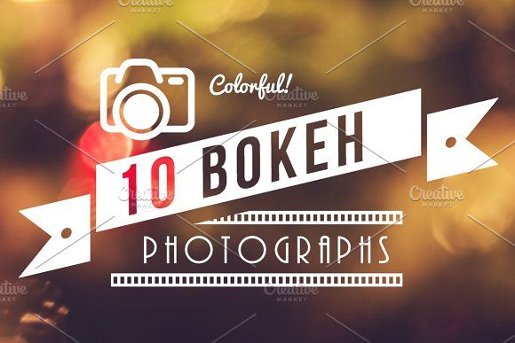 Colorful Bokeh Photographs by Riho Rannamäe on @creativemarket