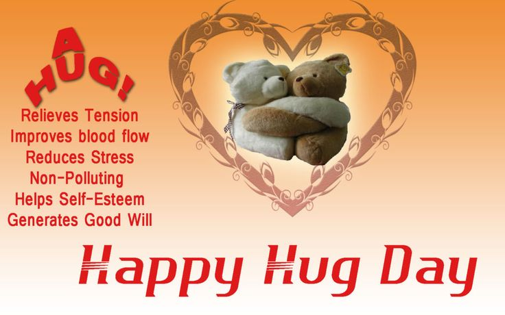 Happy Hug Day Wishes for Girlfriend