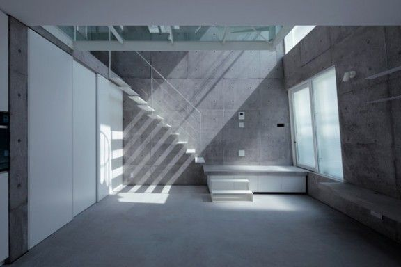 home inspired by an iceberg / Sanpei Junichi