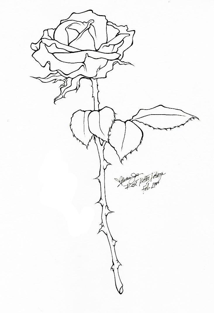 Line Art Tattoo : Best rosa lineas images on pinterest painted flowers