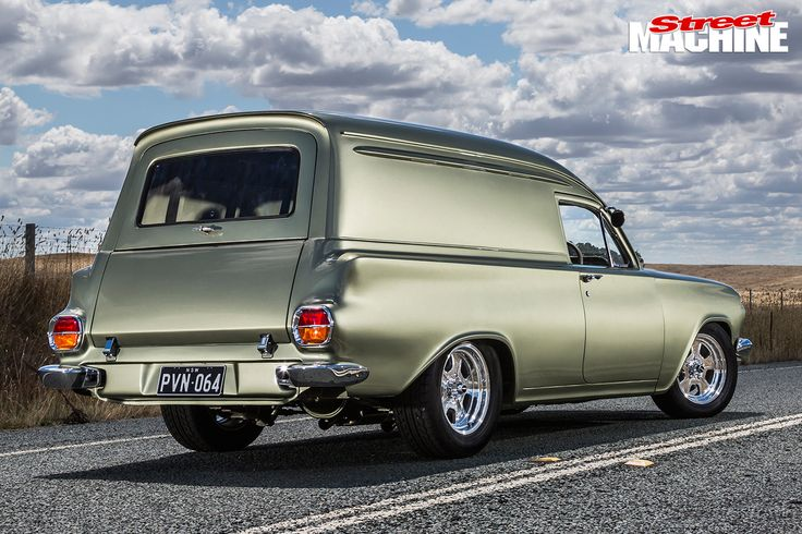 Holden -EH-Panel -Van -rear -angle