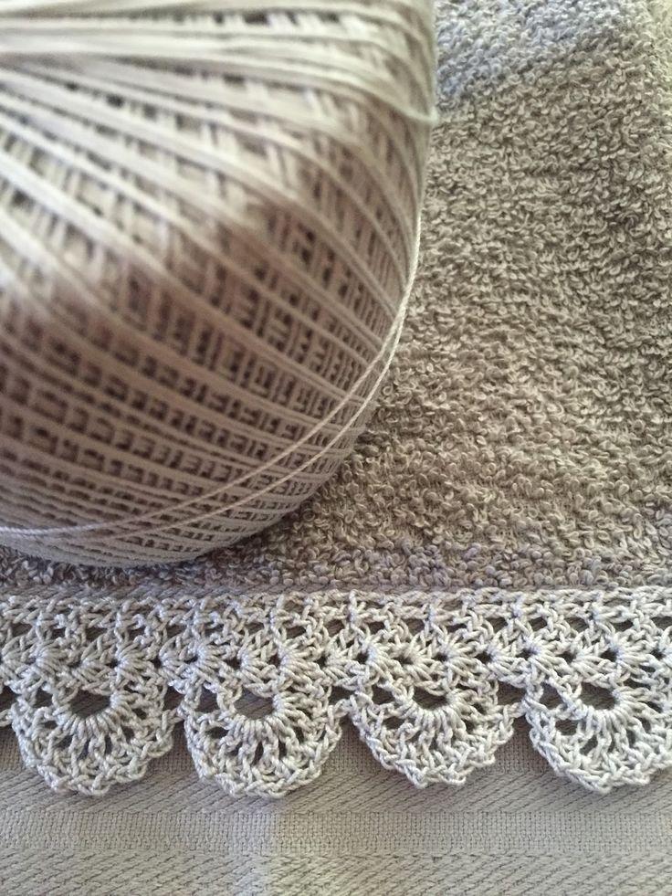 Creative Me: A Little Crochet on the Edge....