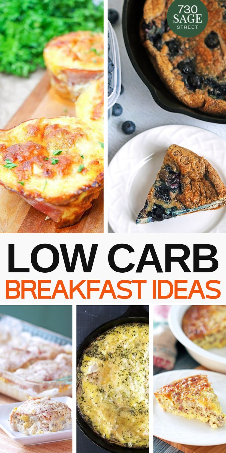 10 Low Carb Breakfast Ideas with Eggs