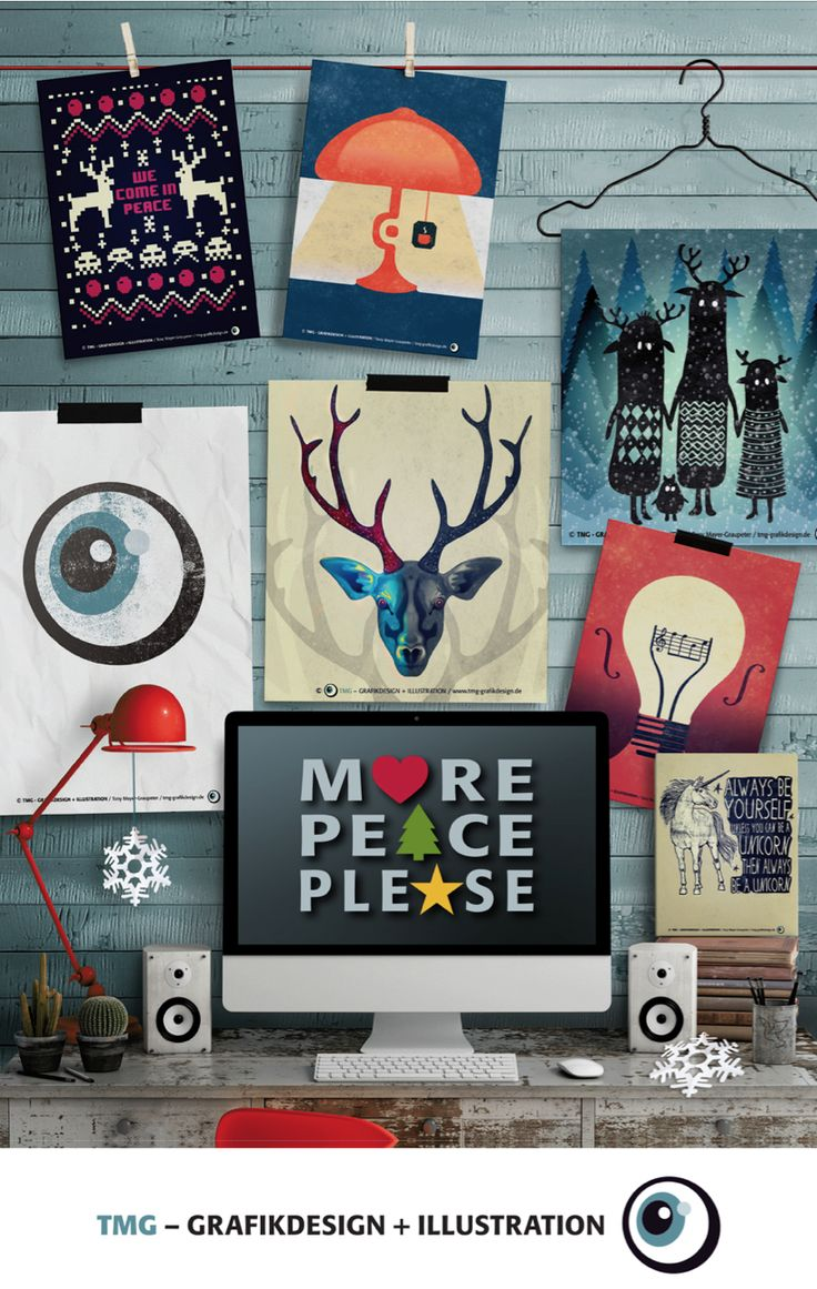#peace #xmas #design #graphicdesign #illustration