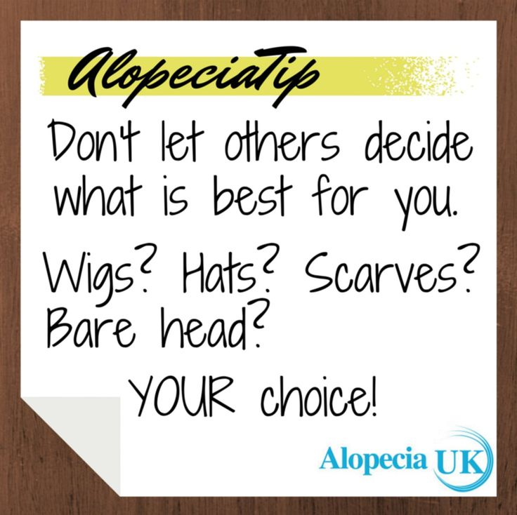 Such great advice! Alopecia_UK (@Alopecia_UK) | Twitter