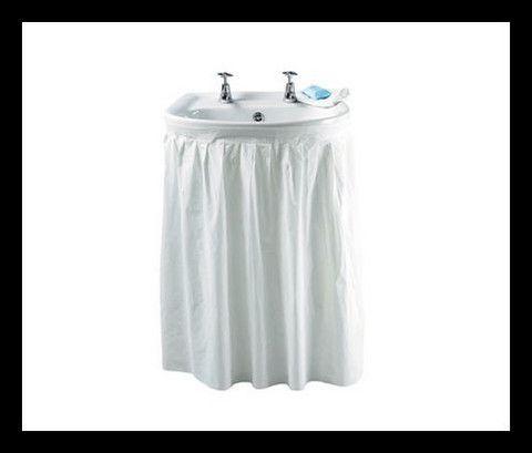 White Sink Skirt