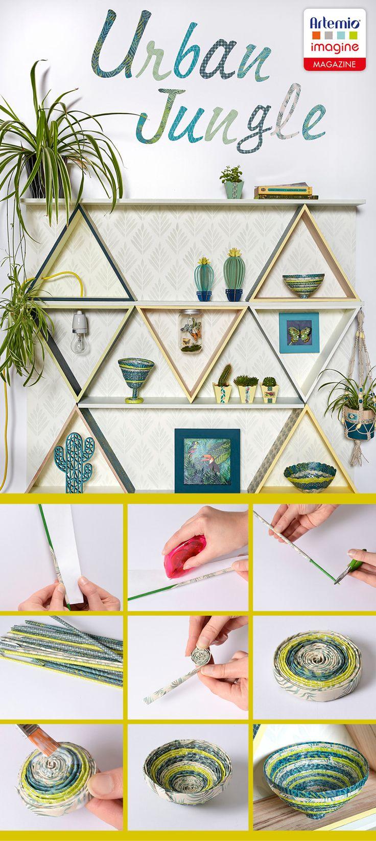 id es d co ambiance urban jungle application gratuite artemio imagine apple andro d deco. Black Bedroom Furniture Sets. Home Design Ideas