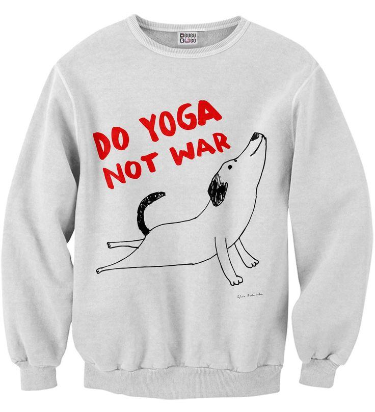 Do Yoga sweater, Mr. GUGU & Miss GO