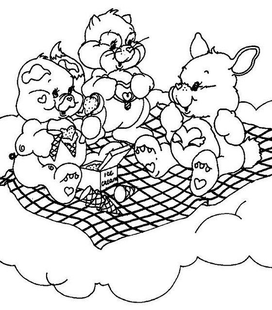 best care bear coloring pages - photo#20