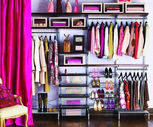 Closet Without All The Pink
