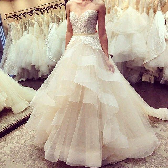 Amazing New York Bridal Fashion Week Show new collection wedding dress designer bridal gown catwalk runway