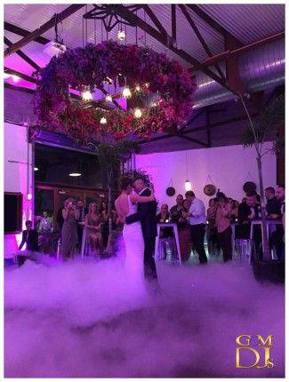 Tashia & Newon Warehouse Reception at Lightspace with Dancing on a Cloud | G&M DJs | Magnifique Weddings #gmdjs #magnifiqueweddings #weddinglighting #weddingdjbrisbane @gmdjs @lightspacebris