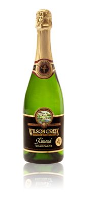 This is the best champagne I have had.  Almond Champagne from Wilson Creek in Temecula Valley, CA.  $16