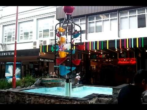 Eco Friendly Water Fountain at Cuba Street, Wellington. Do not forget to like if you enjoy watching this.