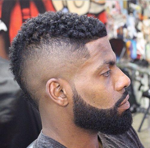 hair sponge and beard cut