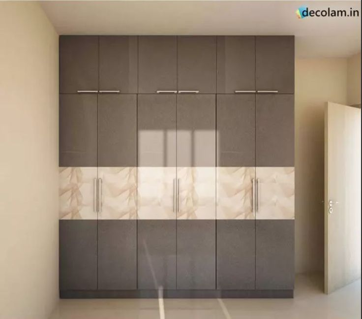 Wonderful Wardrobe With Antiscratch Acrylic Laminates